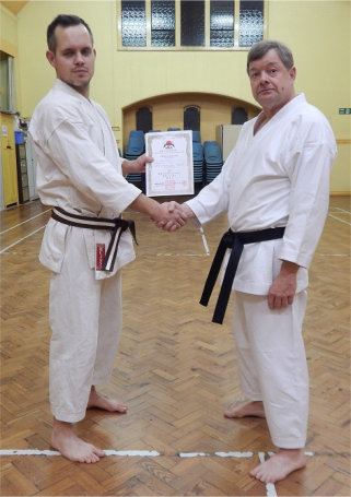2nd Kyu Grading Success